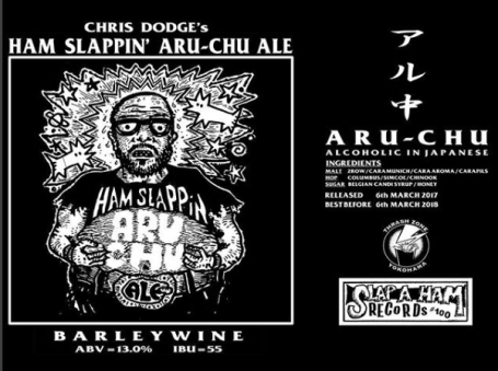 Thrash Zone - Chris Dodge's Ham Slappin' Aru Chu Ale